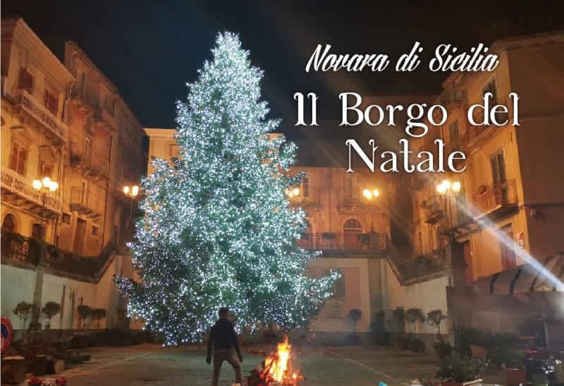 NATALE 2019 NEL Borgo di NOVARA DI SICILIA